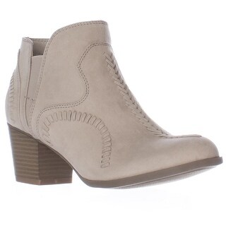 Indigo Rd. Satori Stitched Pull On Ankle Booties - Light Gray
