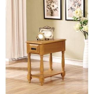 Enchanting Side Table, Light Oak Brown