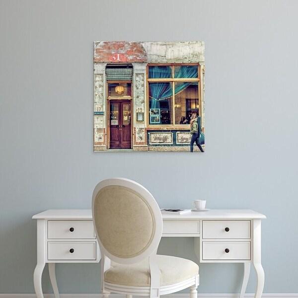 Easy Art Prints Keri Bevan's 'Dalston Pub' Premium Canvas Art