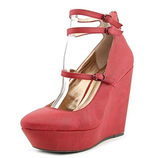 BCBGeneration Jeffrey   Open Toe Synthetic  Wedge Heel