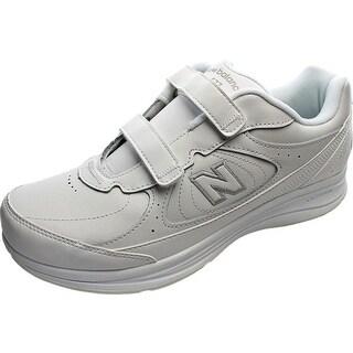 New Balance 577 2E Round Toe Leather Walking Shoe