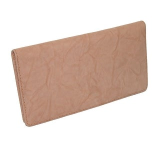 CTM® Leather Deluxe Checkbook Cover and Wallet