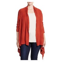 Love Scarlett Womens Plus Cardigan Sweater Open Front Ribbed