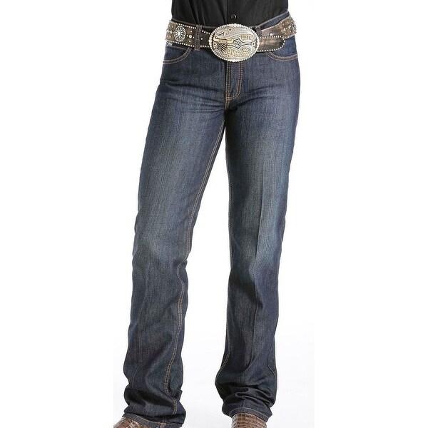 Cinch Western Denim Jeans Womens Jenna Slim Stretch Dark