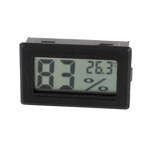 LCD Digital Inserted Temperature Humidity Tester Thermometer Hygrometer