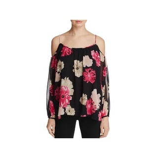 Calvin Klein Womens Blouse Chiffon Floral Print (2 options available)