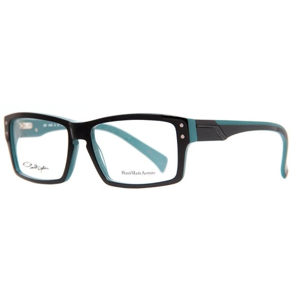 968b43bdc3 Smith Optics Wainwright FRX Black Blue Men  x27 s Acetate Rectangular  Eyeglasses -