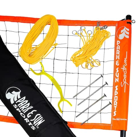 Park & Sun Sports Spectrum 2000 Volleyball Set - Orange