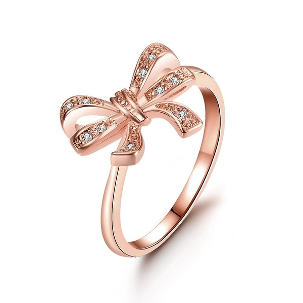 Love Knot Rose Gold Ring