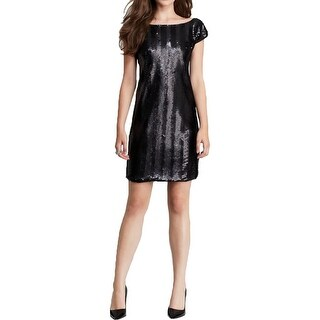 Rachel Zoe Womens Cocktail Dress Sequined Sleeveless - 12