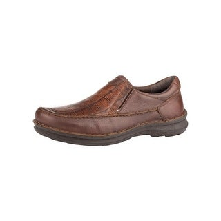 Roper Western Shoes Mens Paxton Slip On Rubber 09-020-1750-2098 BR