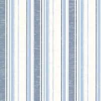 Brewster SRC01791 Belfast Ocean Galop Stripe Wallpaper - ocean galop stripe - N/A