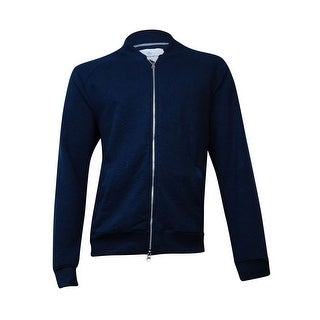 Alternative Men's Boucle Bomber Jacket (Midnight, XL) - Midnight - XL
