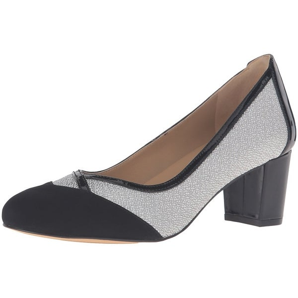 Trotters Womens Phoebe Leather Closed Toe Classic Pumps - 7.5