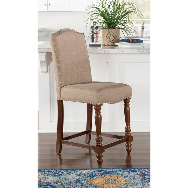 Elkins Solid Wood Counter Stool. Opens flyout.