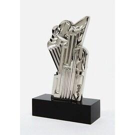Salute to Airmail, Ltd Ed Chromium Plated Sculpture, Roy Lichtenstein