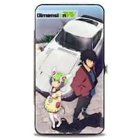 Dimension W Mira & Kyouma Car Pose Hinged Wallet - One Size Fits most