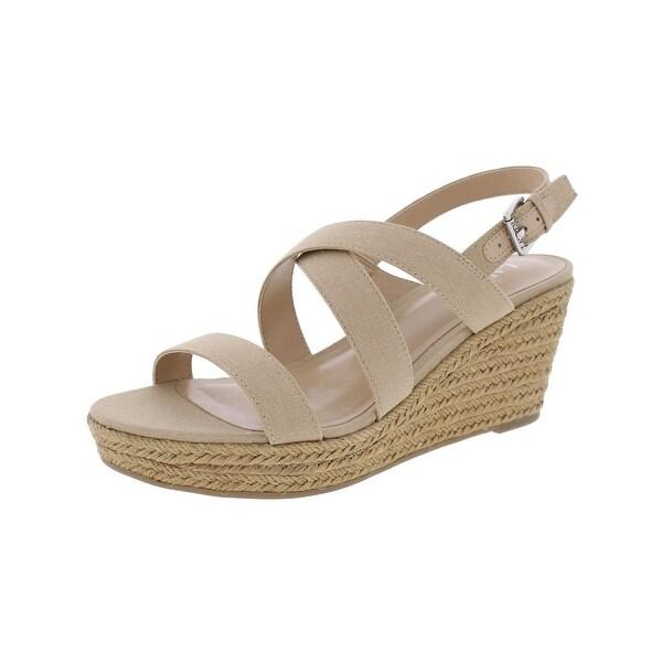 Lauren Ralph Lauren Womens Katerina Wedge Sandals Open Toe Criss Cross