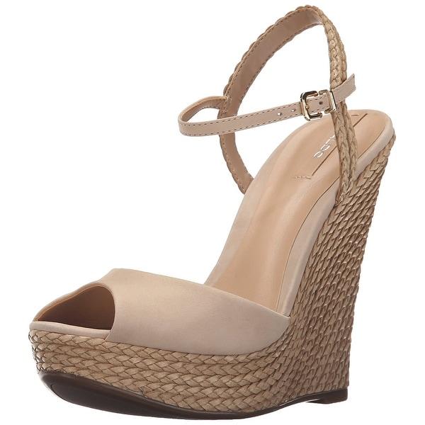 Aldo Womens Shizuko Peep Toe Casual Ankle Strap Sandals