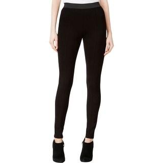 Kensie Womens Leggings Solid Flat Front