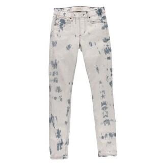 McGuire Womens Newton Skinny Jeans Tie-Dye Denim