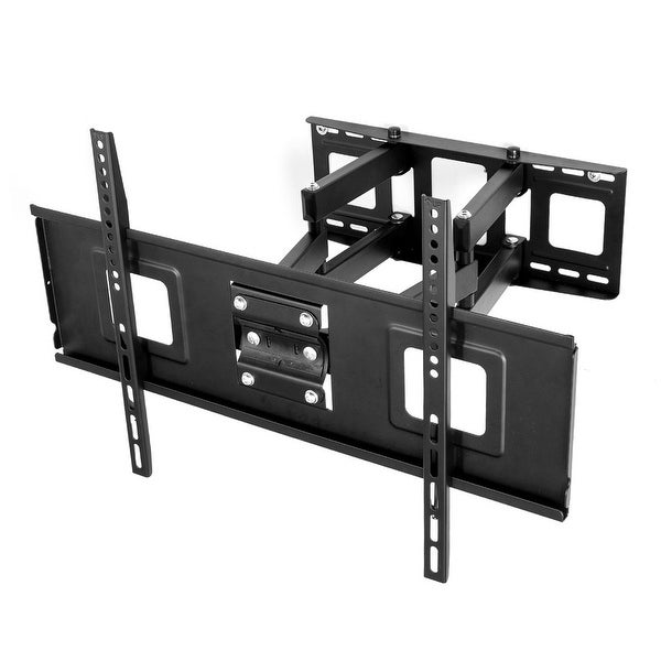 Shop fleximounts tv wall mount bracket for most 32 70 inch tv full motion articulating arms up - Tv wall mount reviews ...