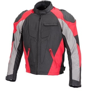 Men Motorcycle Four Season Textile Race Jacket CE Protection