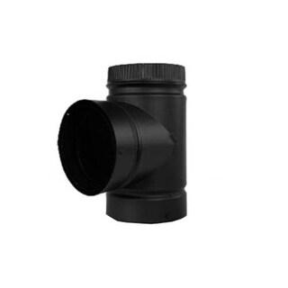 """Selkirk DSP7TE-1 Stove Pipe Tee With Cap, 7"""" Diameter"""