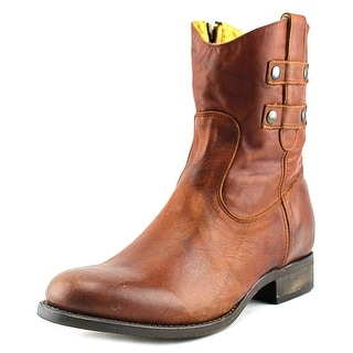 Justin Boots MSL106   Round Toe Leather  Western Boot
