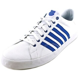K-Swiss Belmont So T Round Toe Canvas Sneakers