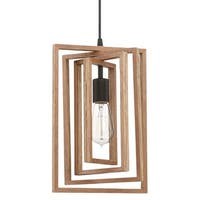 "Craftmade 45091 Cube Single Light 9"" Wide Mini Pendant - Espresso"