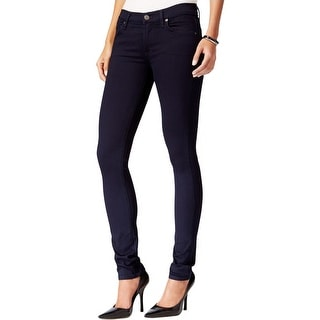 A Gold E Womens Colette Skinny Jeans Denim Mid-Rise