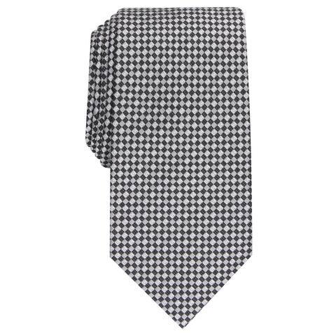 Perry Ellis Men's Morgan Neat Tie Black Size Regular