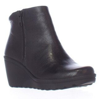 naturalizer Quineta Wedge Ankle Booties, Black