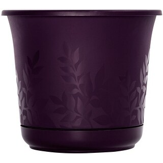 "Bloem FP1256 Freesia Etched Planter, 12"", Exotica"