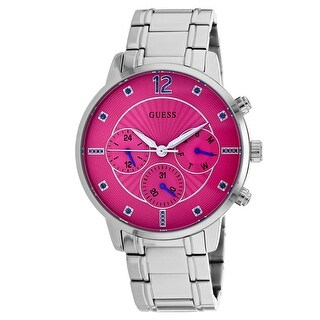 Guess Women's Sunset W0941L3 Pink Dial watch