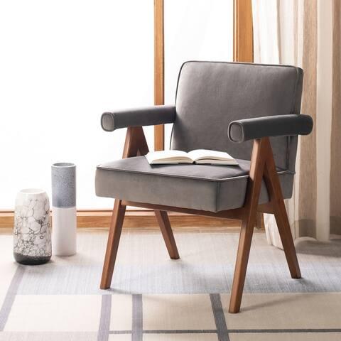 "Safavieh Suri Mid Century Arm Chair - 23.2"" x 24"" x 29.9"""