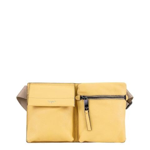 T Tahari Multi Leather Belt Bag