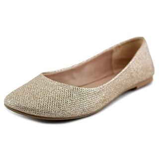 Mix No 6 Danzey Women Round Toe Leather Gold Flats