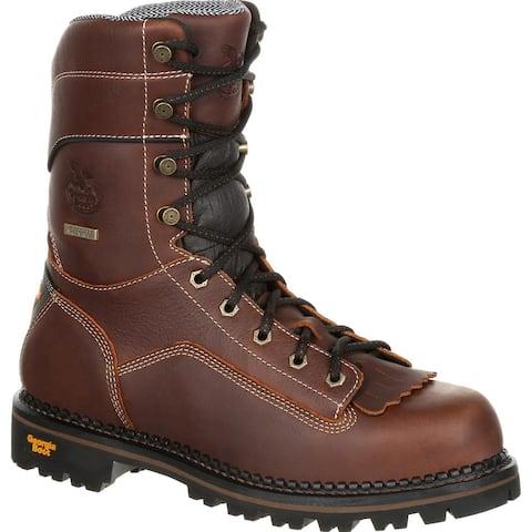 #GB00237, Georgia Boot AMP LT Logger Low Heel Waterproof Work Boot