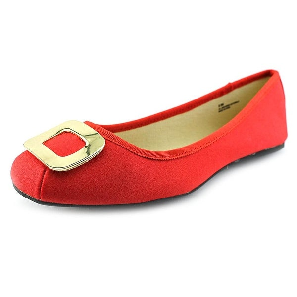 Dolce by Mojo Moxy Kacey Women Square Toe Canvas Flats