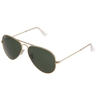 Ray-Ban RB3025 58mm Aviator Sunglasses (Gold Frame/G-15 Lens)