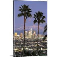 Premium Thick-Wrap Canvas entitled Los Angeles CA
