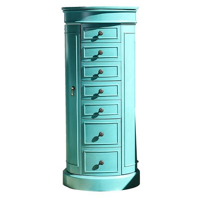 Hives & Honey Bailey Turquoise Jewelry Armoire