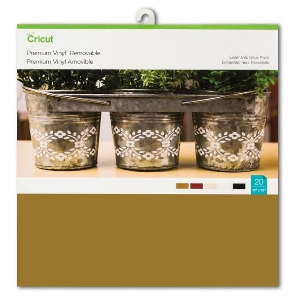 Shop Essentials Colors Premium Vinyl Value Pack For Cricut