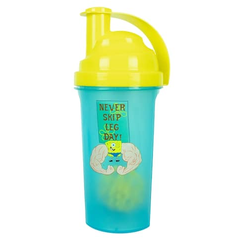 SpongeBob SquarePants Gym Protein Shaker Bottle