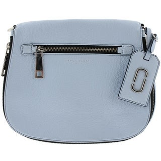 Marc Jacobs Womens Ciel Saddle Handbag Leather Convertible - Medium