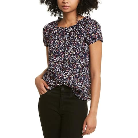 Cece By Cynthia Steffe Off-The-Shoulder Floral Top