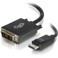 C2g 54330 Displayport Male To Single Link Dvi-D Male Adapter Cable, Black