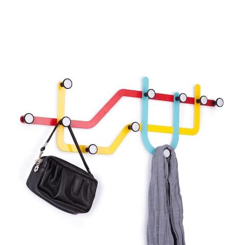 Umbra Subway Multicolored Multi Hook